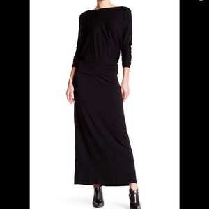 Tart Yvonne Maxi Dress, XS, EUC, black